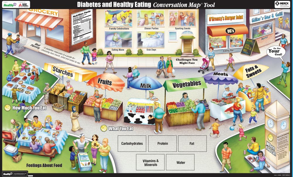 Healthy Interactions US Diabetes Conversation Map Program From - Diabetes us map